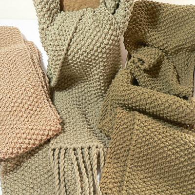 Moss Scarf Knitting Pattern